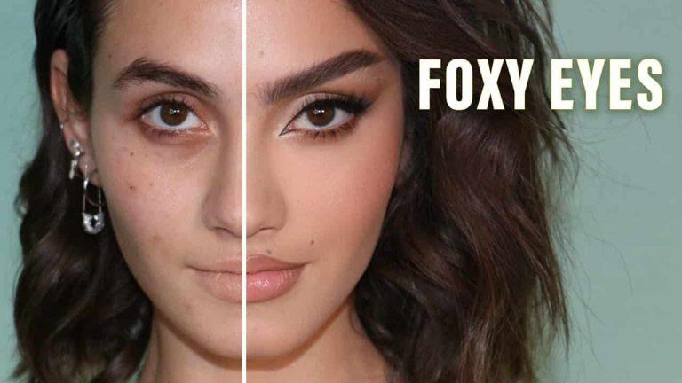 Mejora tus facciones mediante los Foxy eyes